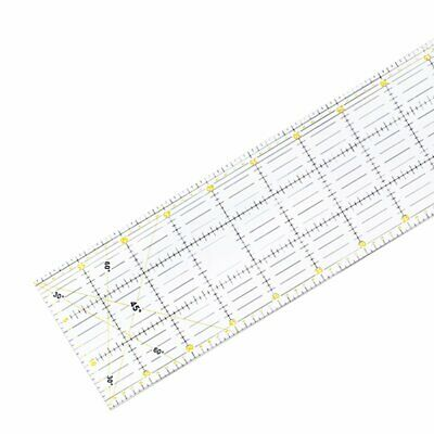 Patchwork ruler cutting special ruler 60cm*15cm thickness 3mm hand tool FZ