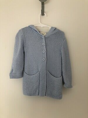 Wilson And Frenchy Baby Jacket Cardigan Knit Size 1