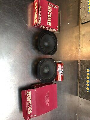 Vintage Plessey Rola KC5 MR-8  new Old Stock Speakers Collectable Repair QZZQ
