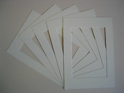 Picture Photo Frame Mounts Pack Of 4 8 Or 20 Various Sizes A3 A4 Ivory