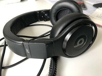 Beats By Dr Dre Pro Over Ear Black Wired Headphones RRP £349.95 Genuine Studio