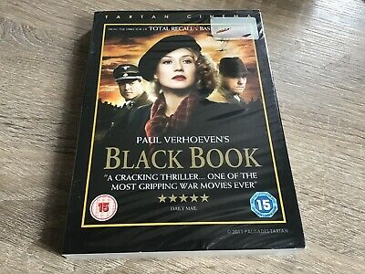 Black Book 2006 dvd new sealed paul verhoeven's thriller fast and free