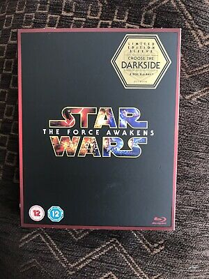 Star Wars Story Blu-ray The Force Awakens 2 Disc  Edition