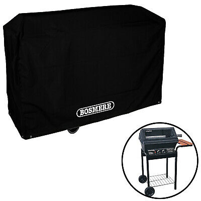BOSMERE Trolley Barbecue BBQ Cover Protector Storm Black 97 x 79 x 51cm