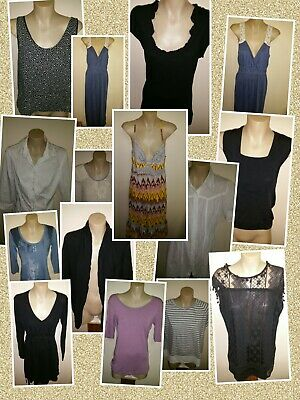 Womens Mixed Lot Sz12 Hippy Dresses Tops Casual 14 pcs by three dollars #Bargain