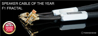 AWARD WINNING Townshend Audio F1 Fractal Speaker Cable 1M Any lengths available