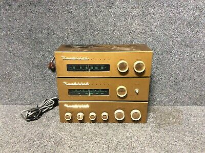 Heathkit WA-P2 Preamp, Fm And Am Tuners For Parts Or Repair