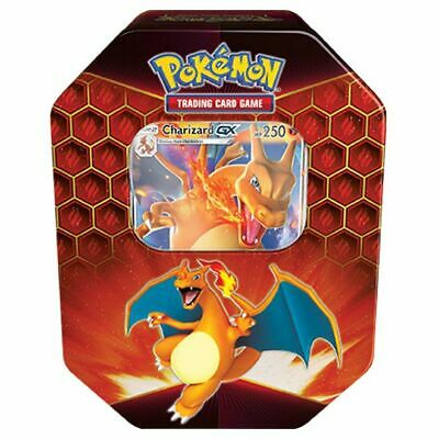 Pokemon  Hidden Fates Tin Display Charizard-GX release date 9th September