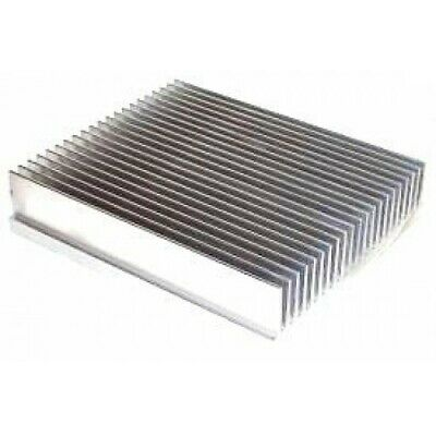 """5.375"""" Wide Extruded Aluminum Heatsink (BY THE INCH) MADE IN THE USA"""