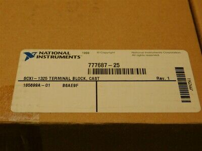 National Instruments SCXI-1325 48Pos Terminal Block Assembly Die-Cast Case