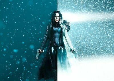 Underworld Blood Wars Poster Selene Kate Beckinsale Poster A5 A4 A3 A2