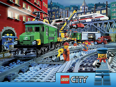 LEGO CITY  Poster Print A5..A4...or A3 option 260gsm