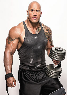 THE ROCK  Poster Print A5..A4...or A3 option 260gsm
