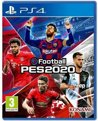 Pes 2020 Ps4 Gioco Italiano Play Station 4 Nuovo Eu Pro Evolution Soccer 2020