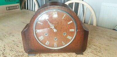 Smiths Art Deco Era Mantle Clock. Serviced And Cleaned Working Order