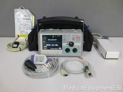 ZOLL E Series Biphasic 12 Lead ECG SpO2 Co2 Analyze Pacing AED ETCo2 BLS W/ Case