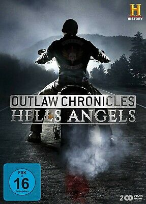 George Christie - Outlaw Chronicles:die Hells Angels  2 Dvd New