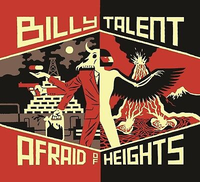 Billy Talent - Afraid Of Heights   Cd New