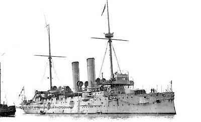 Royal Navy Edgar Class Cruiser Hms Hawke - Lost October 1914 - World War I