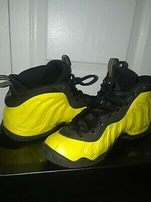 8fd0fc3b2c Nike Little Posite One GS Wu-Tang Size 6.5Y Yellow Black 644791-701