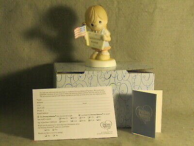 "Precious Moments ""Welcome Home My Hero""  In Box w/Tags 740020"