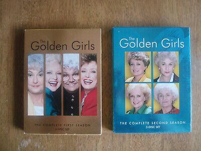 The Golden Girls Complete First and Second Seasons