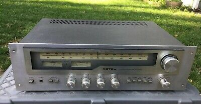 """vtg Rotel RX-503 Stereo Receiver Works But Needs Attention MIJ 1977 sold """"AS IS"""""""