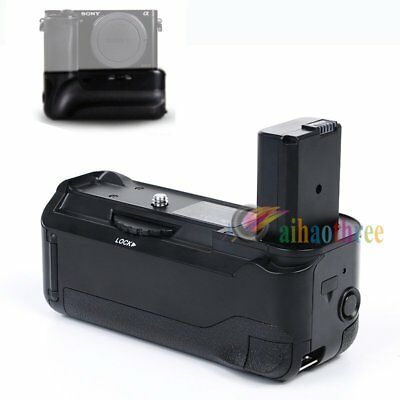 Vertical Battery Hand Grip Holder With Remote Control For Sony A6000 Camera【AU】