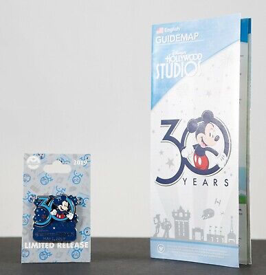 New Disney Parks 2019 Hollywood Studios 30th Anniversary Pin New Limited Release