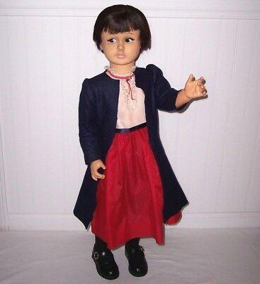 "Vintage 1966 Disney Mary Poppins 36"" Horsman Play Pal Sized Doll RARE"