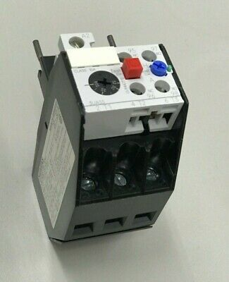 Siemens Thermal Overload Relay 3Ua5500-2D 6.3-10A Motor Protection