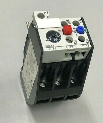 Siemens Thermal Overload Relay 3Ua52 00-0A 0.1-0.16A Motor Protection