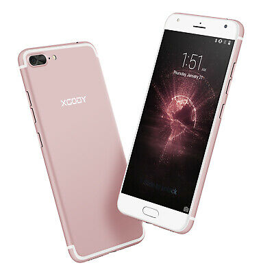 Factory Unlocked Android Cell Phone 2SIM Quad Core Cheap 5.5 Inch New Smartphone