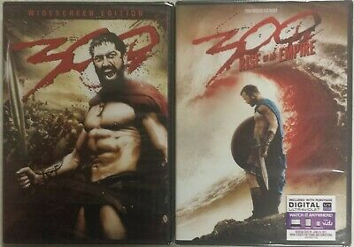 300 and 300 Rise of an Empire Movies Brand New!