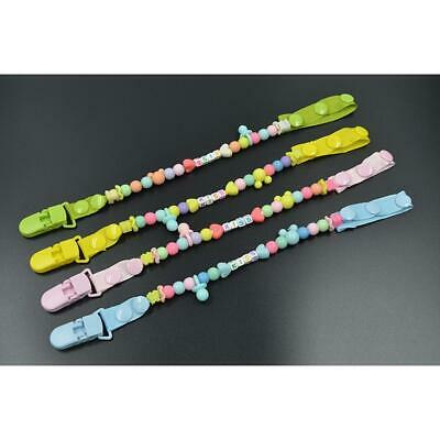 Fashion Baby Pacifier Clips Baby Chewable Silicone Beads Silicone Baby IN