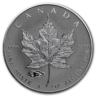 2016 Canada Maple Leaf 1 oz .9999 Silver, Mark V Tank Privy ~~ Excellent Cond ~~