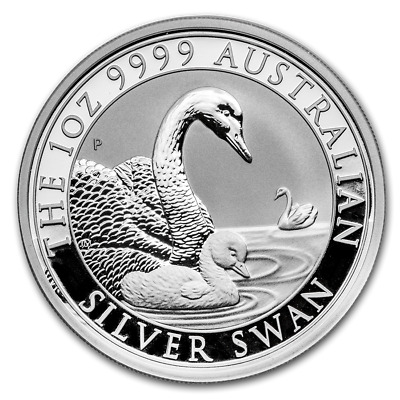 2019 Australian $1 Swan 1 oz .999 Silver Coin Perth Mint BU  ~~~NEW~~~