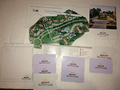 Marriott Vacation Club Fords Colony Manor Club Williamsburg, Va: Room Key Cards+