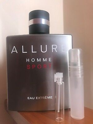 Allure homme sport eau extreme by Chanel EDP Decant sample
