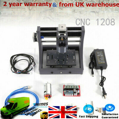 3Axis Mini USB CNC Router Wood Carving Engraving PCB Milling Machine UK