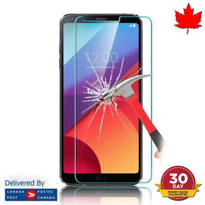 LG G6 Tempered Glass Screen Protector Clear Transparent Screen Protector