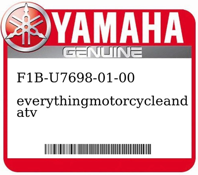 Yamaha F1B-67747-00-00 PACKING  SEAL