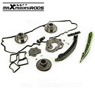 CAMSHAFT ADJUSTERS+TIMING CHAIN Kit Fit for Mercedes-Benz C250