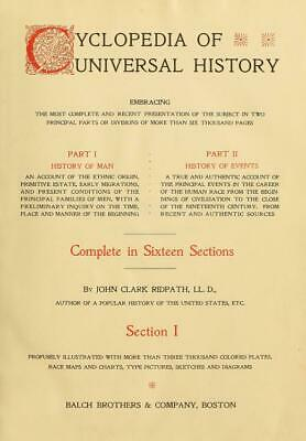 Cyclopedia of universal history in PDF ebooks & mobi files for PC/Kindle on disc