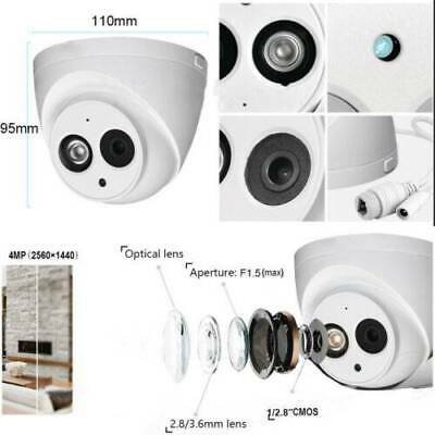 NEW HD 4MP IPC-HDW4433C-A Built-in MIC Home Security CCTV PoE IP Camera Dome AU
