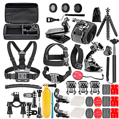 50-in-1 Kit di Accessori per GoPro Hero Hero 6 5 4 3 + 3 2 1 con filtro set