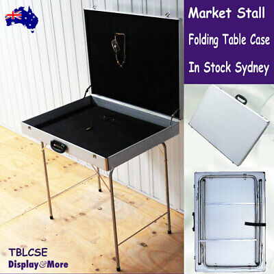 Market STALL Table Stand CAR BOOT Folding Case | Flea MARKET Paddy's | AUS Stock