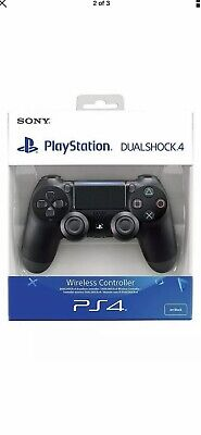 Official Playstation Dualshock 4 Wireless Controller -  Black Ps4- Uk Delivery