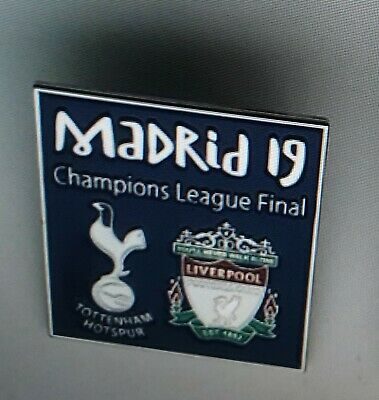 Champions League Final 2019 badge Madrid