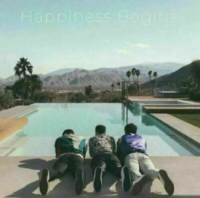 Jonas Brothers CD 2019 Happiness Begins Physical Sealed Album NEW CRACKED CASE